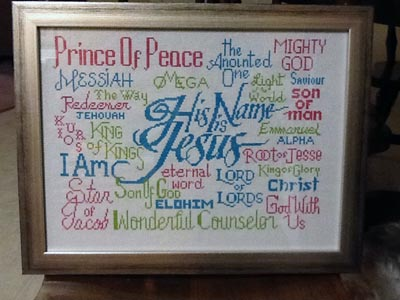 His Name is Jesus - Free chart with Newsletter sign up