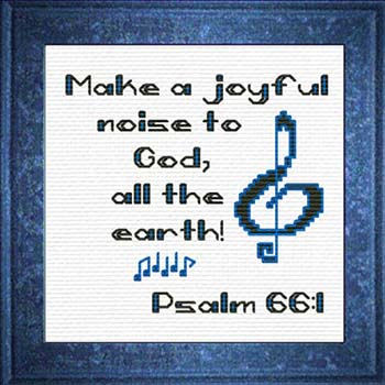 Free and Almost Free Counted Cross Stitch Charts featuring Bible ...