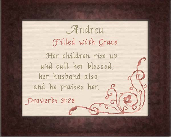 Name Blessings Andrea Personalized Names With Meanings