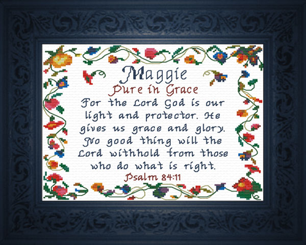Maggie Name Blessings Personalized Names with Meanings and