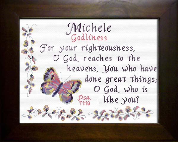 Name Blessings - Michele - Personalized Names with