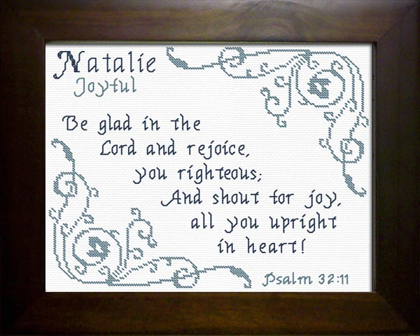 Name blessings natalie