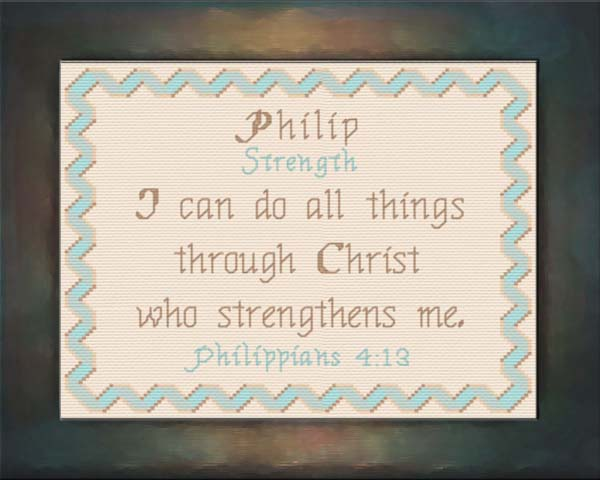 Name Blessings - Philip - Personalized Names with Meanings