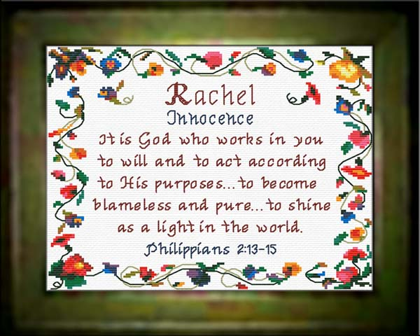 name blessings rachel personalized names with meanings and bible