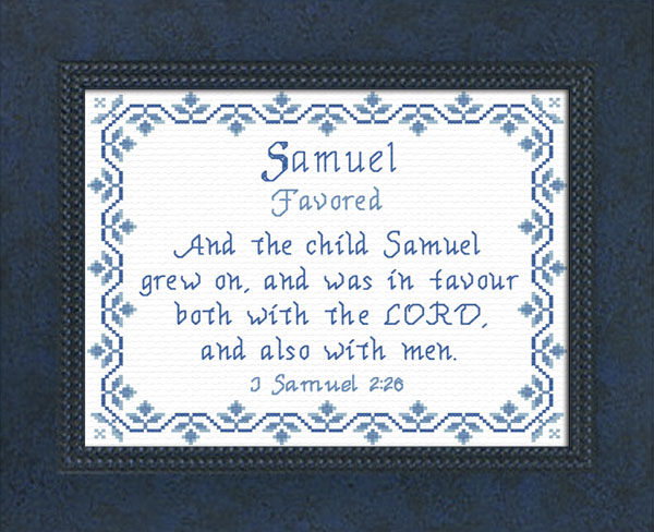 Samuel 4 Name Blessings - Personalized Names with Meanings ...