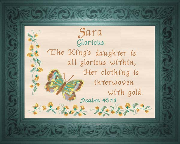 Name Blessings Sara Personalized Names With Meanings