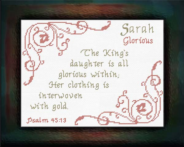 Name blessings sarah personalized names with meanings and bible