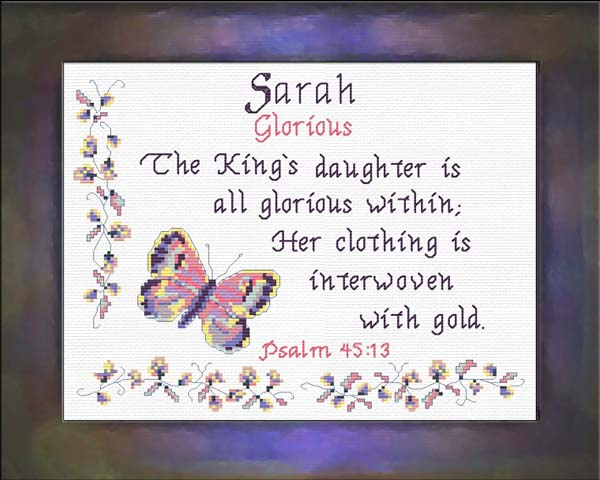 Name Meanings Sarah